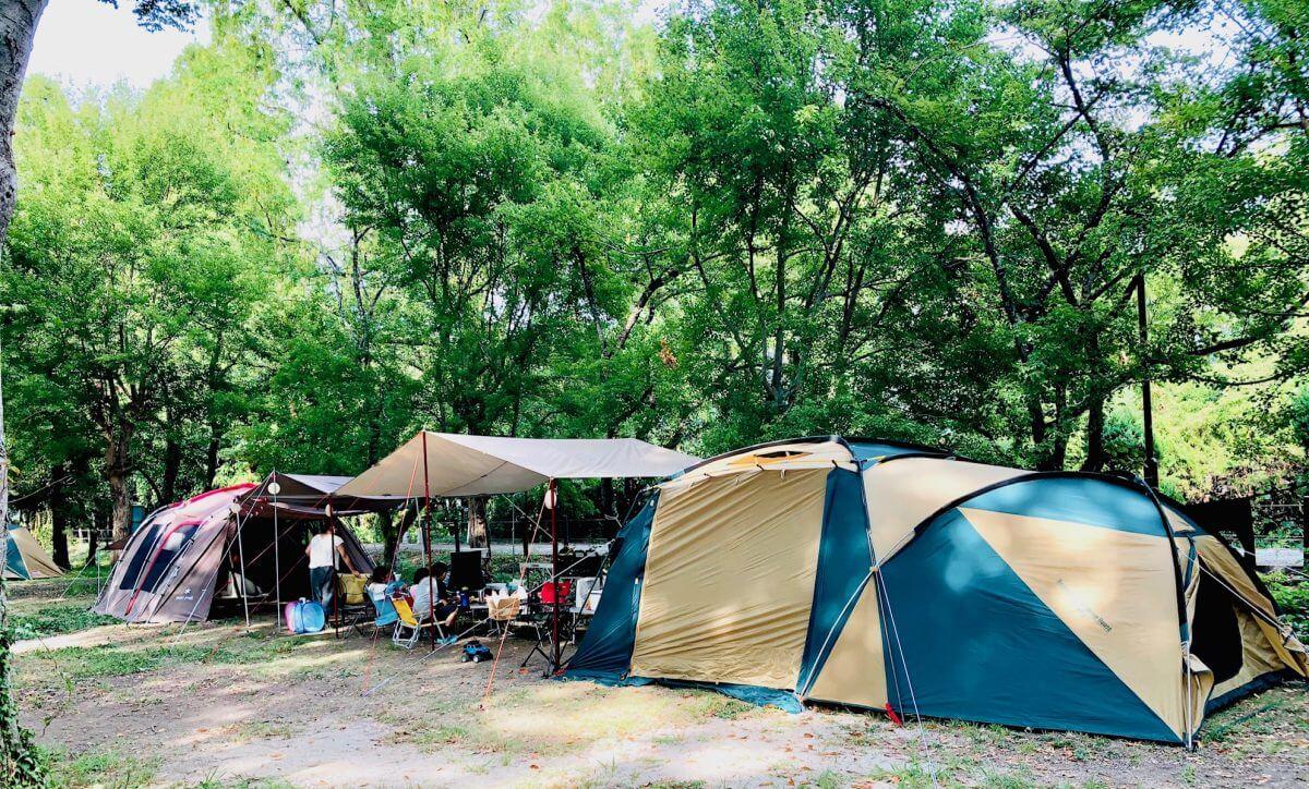キャンプテントの画像