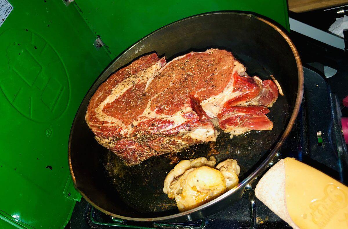 塊肉の画像