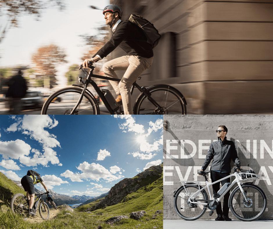 スポーツ電動自転車の画像