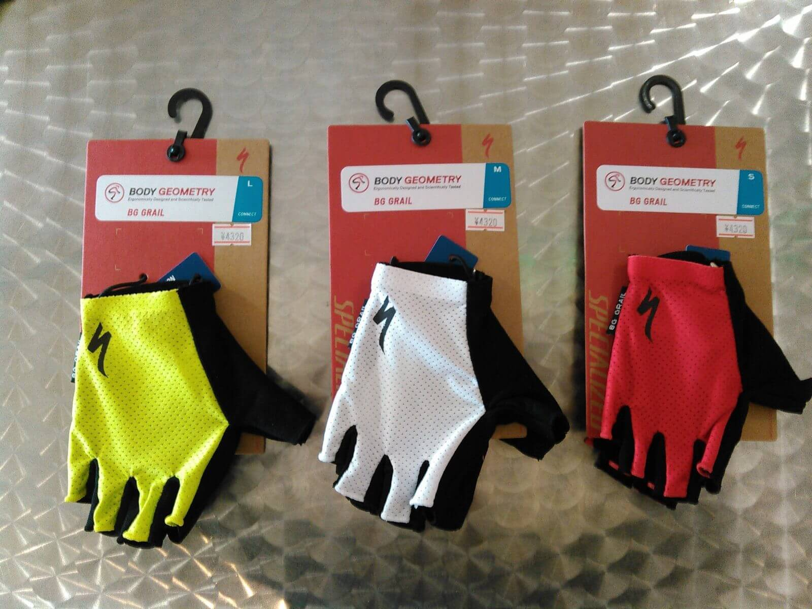 Body Geometry Grail Gloves画像