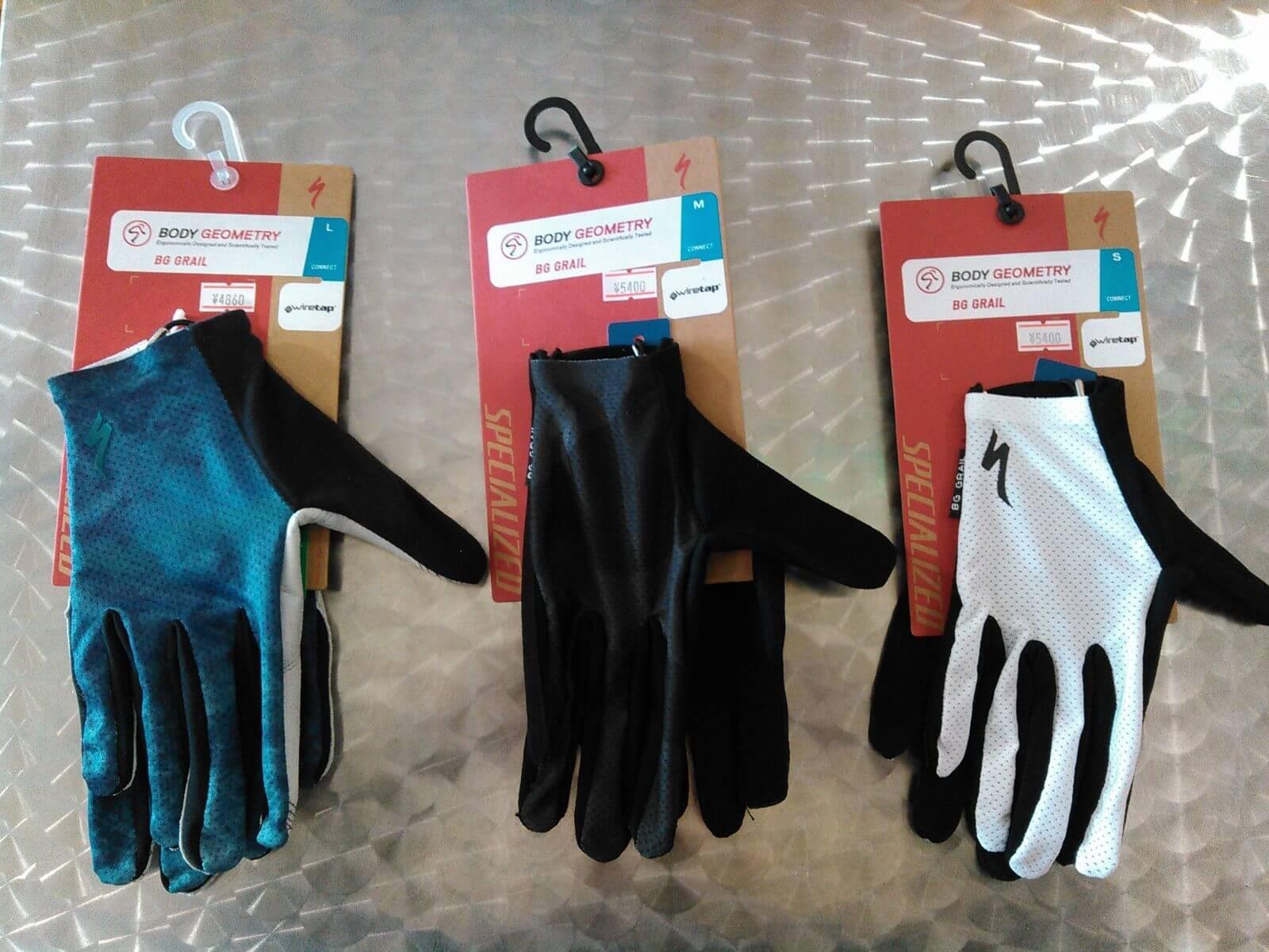 Body Geometry Grail Long Finger Gloves画像