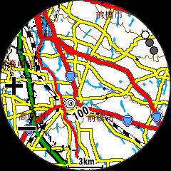 ForeAthlete945地図