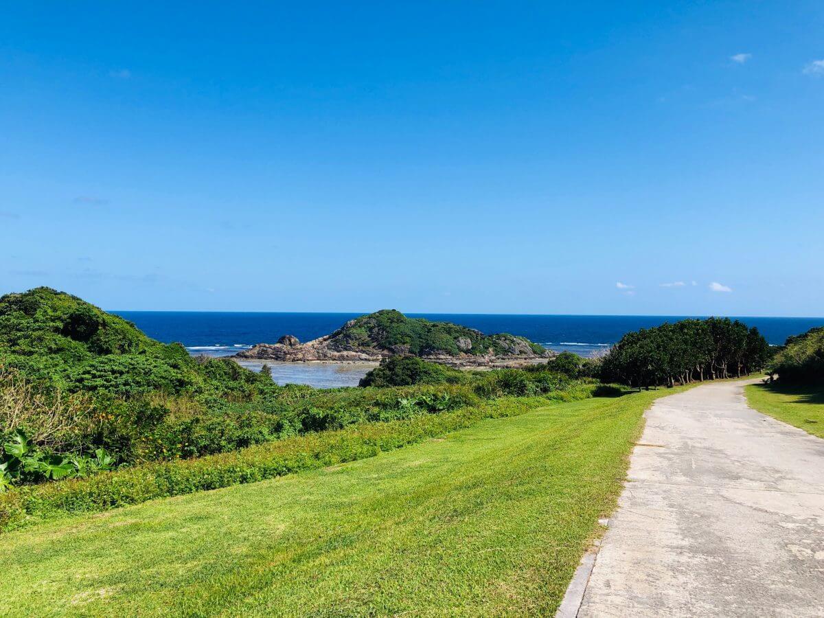 Club Medの岬からの眺め