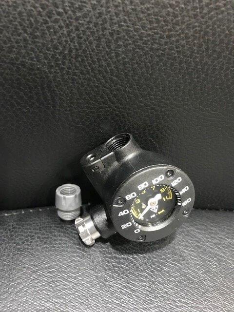 米式の空気圧のチェック